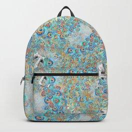 Peacock Pattern 03 Backpack