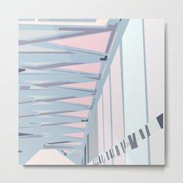 Bridge tiles Metal Print