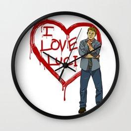 I Love Luci Wall Clock