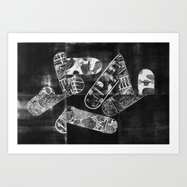 Constructive Use of Time Art Print