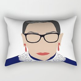 Ruth Bader Ginsburg RBG Rectangular Pillow