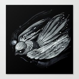 Flight in Midnight Canvas Print