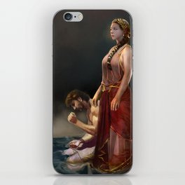 """Calypso(""""Charm of of the Ancient Enchantress"""" Series) iPhone Skin"""
