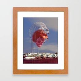 Disconjunction Framed Art Print