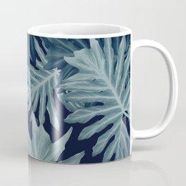 Philo Hope - Tropical Jungle Leaves Pattern #5 #tropical #decor #art #society6 Coffee Mug