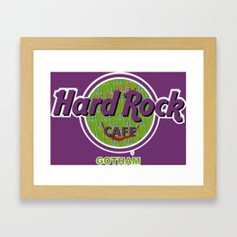 HARD ROCK CAFE GOTHAM Framed Art Print