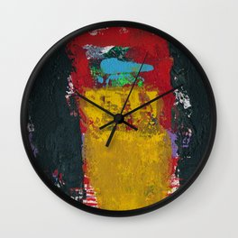 Baron Modern Art Black Wall Clock