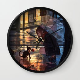 Life is precious Original Artwork Wall Clock