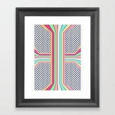 pop cross Framed Art Print