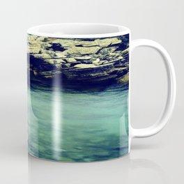 River on the Rocks  Coffee Mug