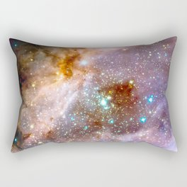 Swan Nebula Rectangular Pillow