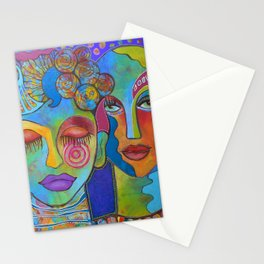 All the colors I am inside Stationery Cards