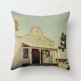 The Sanctuary Adventist Church a.k.a The Kill Bill Church Throw Pillow