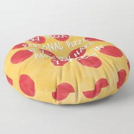 Inspirational Pizza Floor Pillow