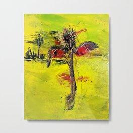Salvation (Scarecrow in the Desert)  Metal Print