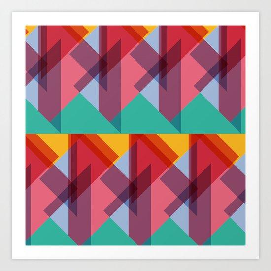 Crazy Abstract Stuff 3 Art Print