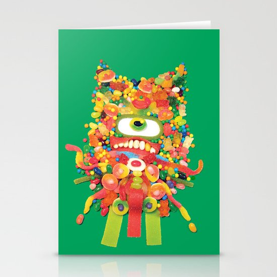 Sweet Monster Stationery Cards