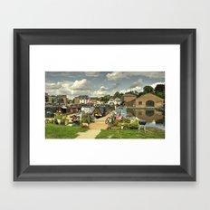 Diglis Basin Framed Art Print