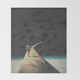 We Chose This Road My Dear Throw Blanket