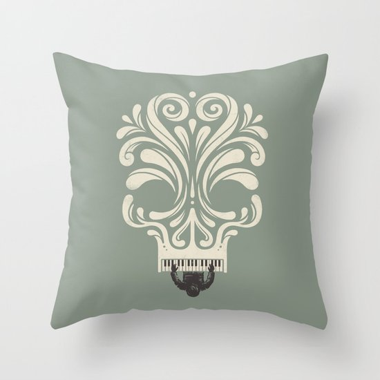 Killer Song Throw Pillow