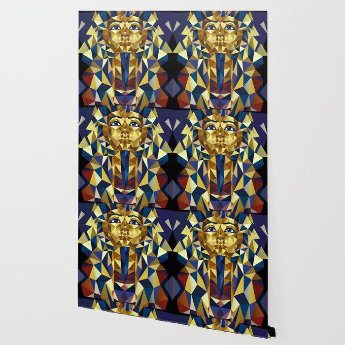 Golden Tutankhamun - Pharaoh's Mask Wallpaper