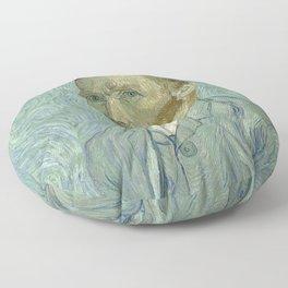 SELF PORTRAIT - VINCENT VAN GOGH Floor Pillow