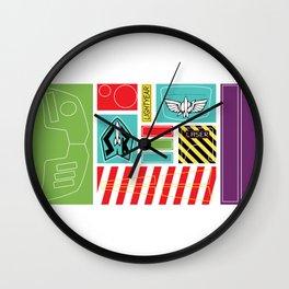TOY STORY : BUZZ LIGHTYEAR STICKERS KIT Wall Clock