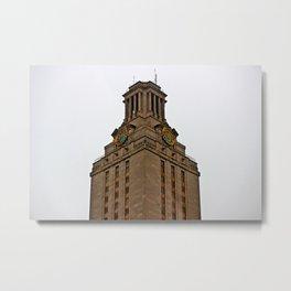 UT Tower Metal Print
