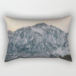 Mt. Whitney at Sunset Rectangular Pillow
