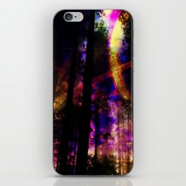close your eyes and dream with me iPhone Skin
