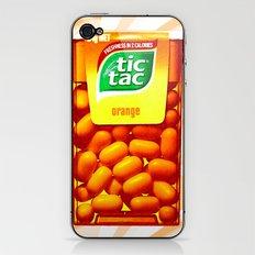 TIC TAC iPhone & iPod Skin