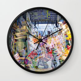 Like an urge to return to the dirt and the plough. Wall Clock