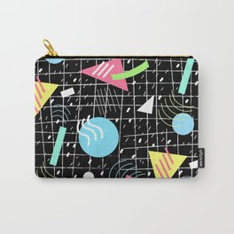 Memphis Style Vibes (Dark) Carry-All Pouch