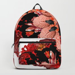 flame crows mandala Backpack