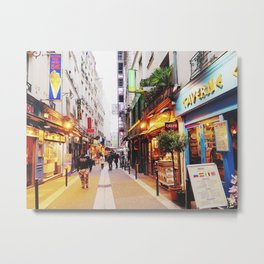 Paris small street Metal Print