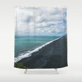 Endless Coastline Shower Curtain