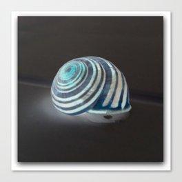 Glowing Snail Canvas Print