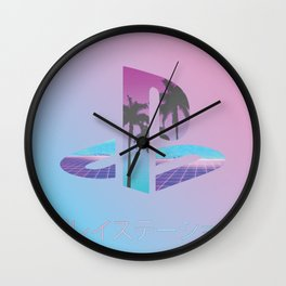 Vaporstation Wall Clock
