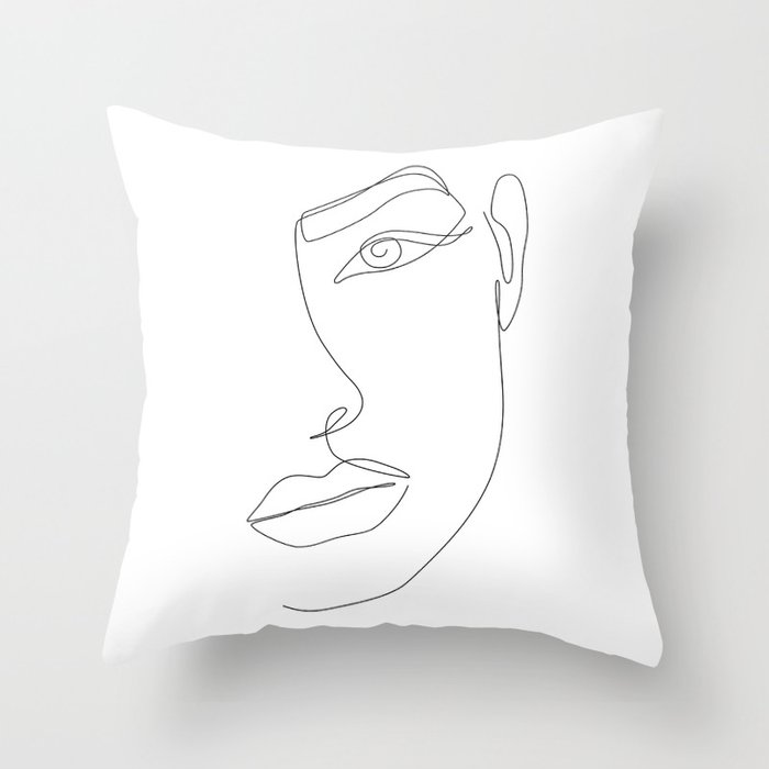 Eye Connection Throw Pillow