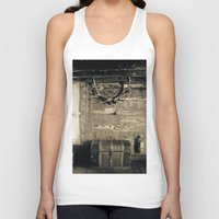 cabin Tank Tops featuring Colorado Cabin by Lost In Nature
