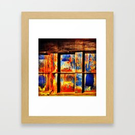 Container Framed Art Print