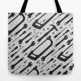 Tools Pattern Tote Bag