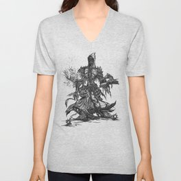 Lich, unded mage Unisex V-Neck