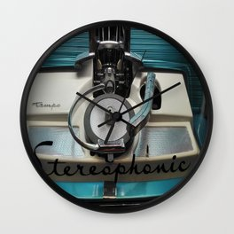 Stereophonic Wall Clock