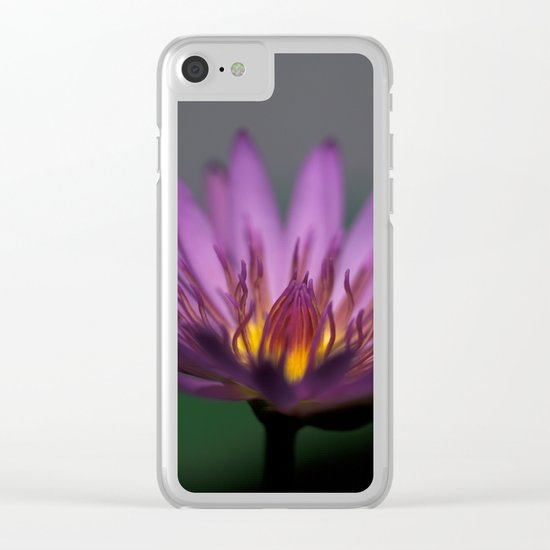 Lotos Water lily Clear iPhone Case