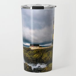 St. John's Point Lighthouse - Print  County Down, Northern Ireland.(RR 265) Travel Mug