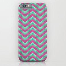 Hot Pink & Mint iPhone 6s Slim Case