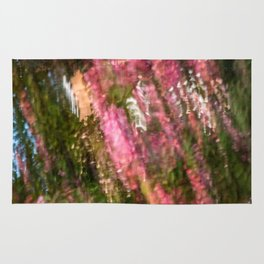 Flowering Crab Abstract Rug