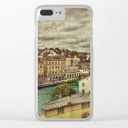 Zurich Clear iPhone Case
