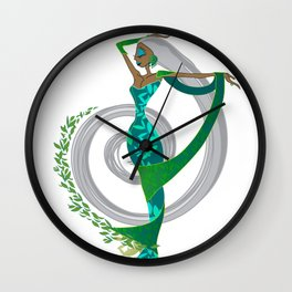 Our Lady of Tea Wall Clock